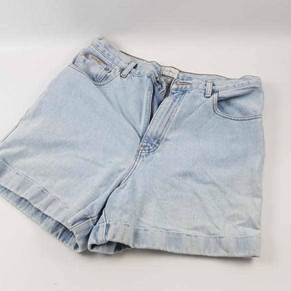 Calvin Klein Pants - Vintage high waist Calvin Kline jean shorts